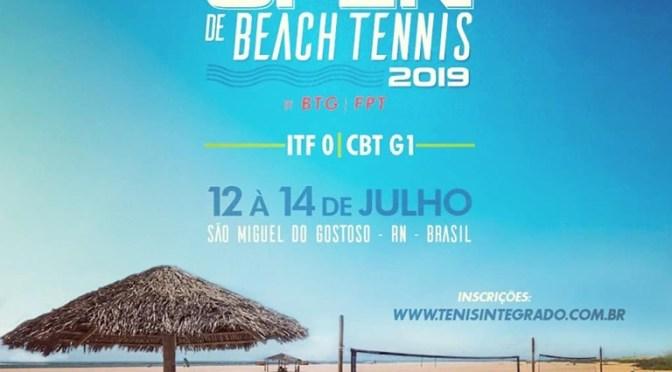 São Miguel do Gostoso recebe etapa mundial e brasileira de Beach Tennis