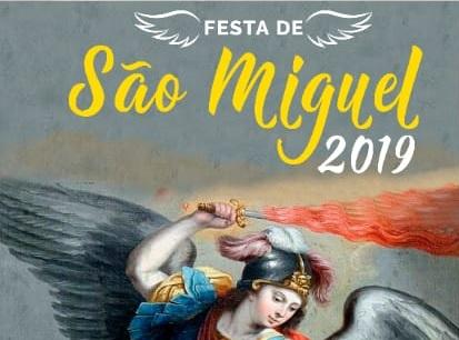 #SãoMiguelArcanjo2019: PROGRAMAÇÃO DE DOMINGO (22)