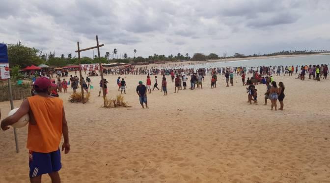 COM FINAL CONTURBADO, SEDE MANTÊM HEGEMONIA DE TÍTULOS NO TORNEIO DE BEACH SOCCER