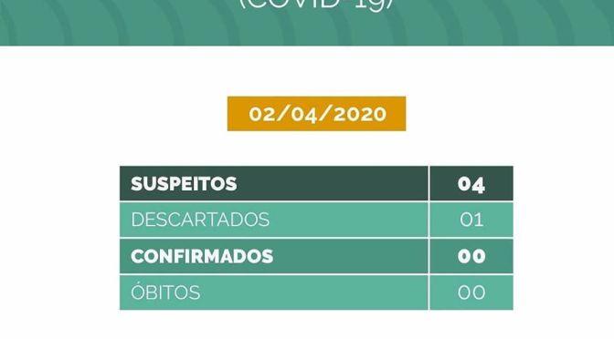 COVID-19: SÃO MIGUEL DO GOSTOSO TEM QUATRO CASOS SUSPEITOS E UM DESCARTADO