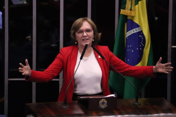 Senadora Zenaide no Senado
