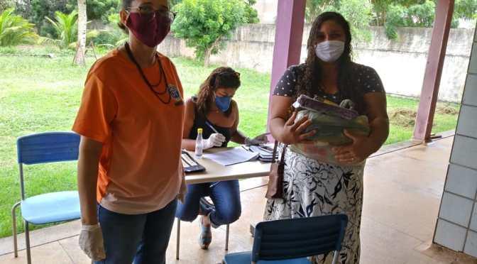 ESCOLA ESTADUAL INICIA DISTRIBUIÇÃO DE CESTAS BÁSICAS PARA TODOS OS ALUNOS MATRICULADOS