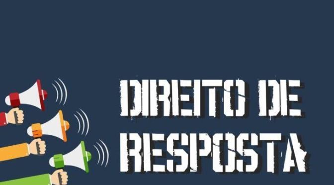 PEDIDO DE RESPOSTA: FLAUBER DE SOUZA TEIXEIRA