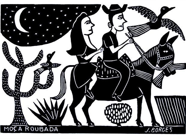 Xilogravura de J. Borges.